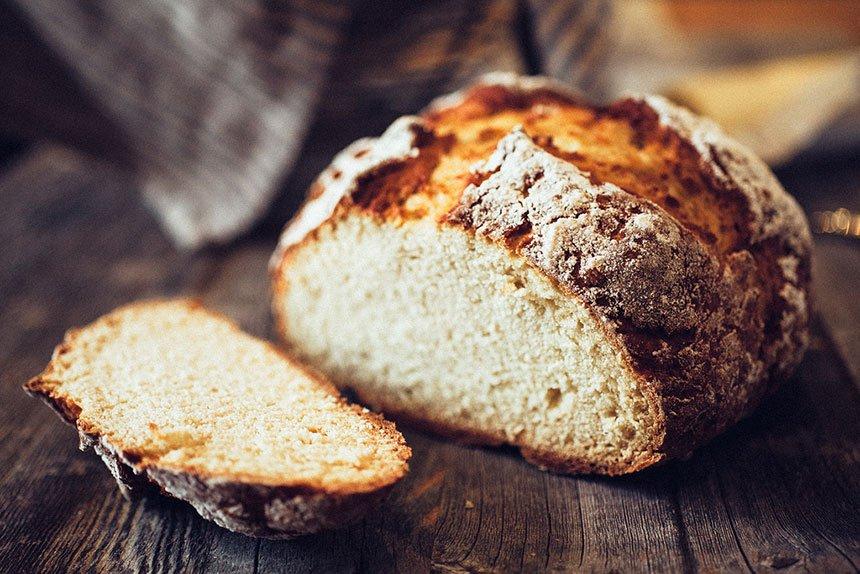 Beskvasni hleb na irski način