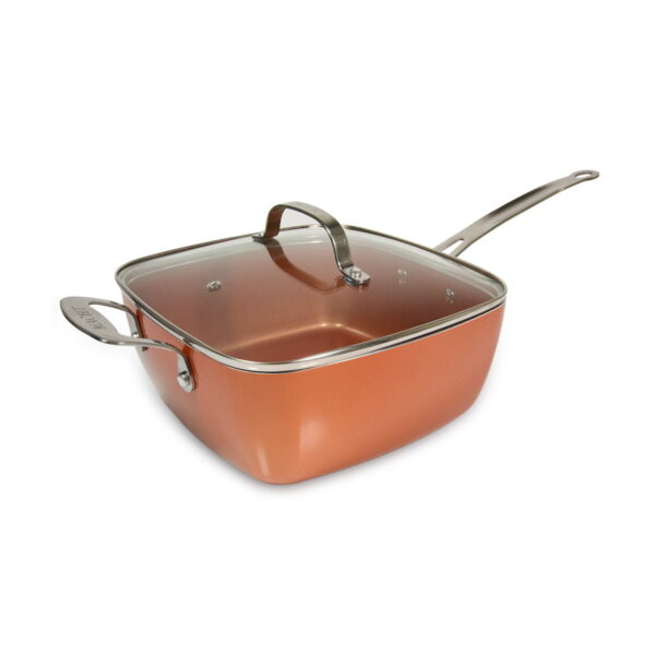 Macht 4 u 1 tiganj / pekač / friteza / steamer 24x24 - Copper pan TITAN CHEF
