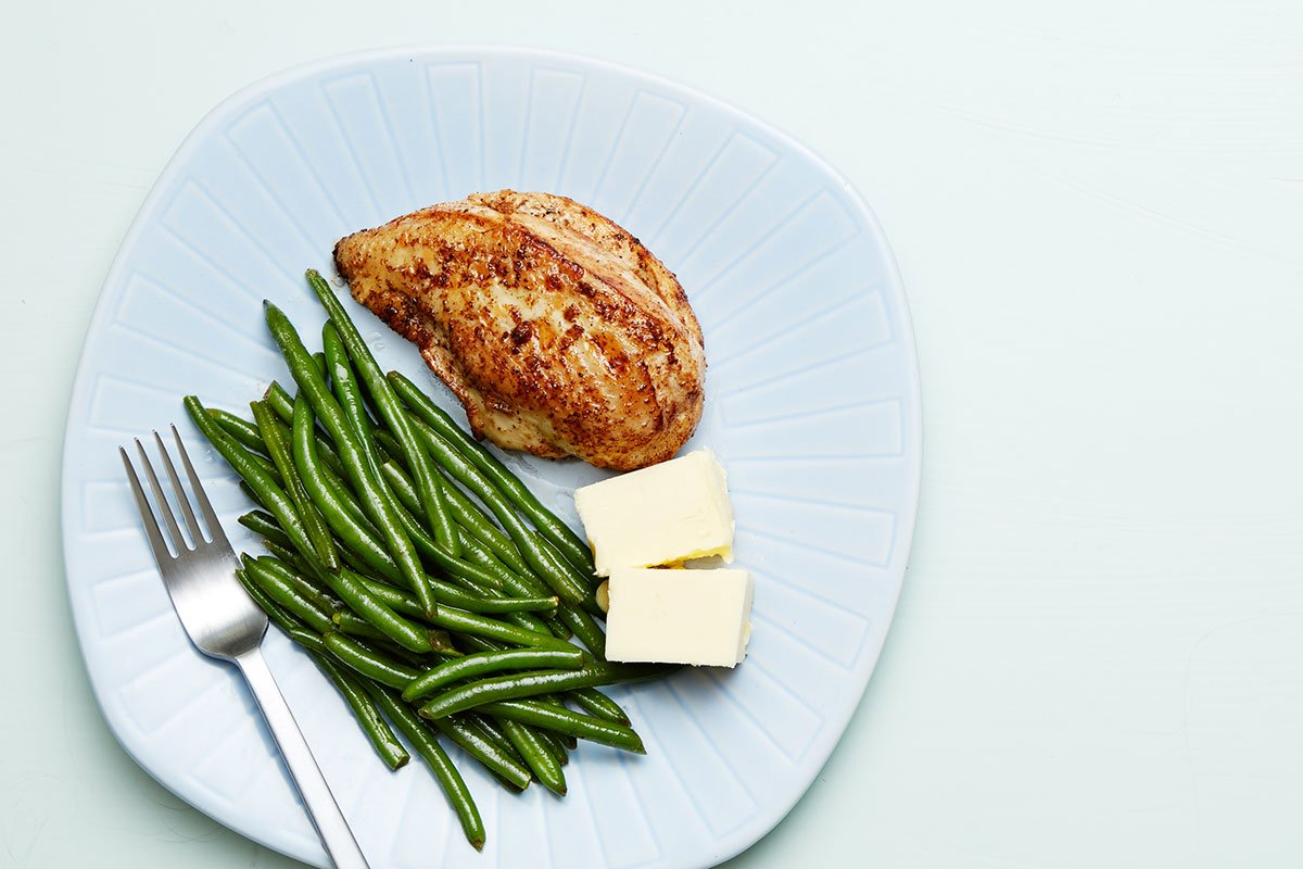 Zapečena boranija sa piletinom