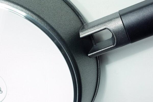 Woll tiganj prečnika 24 cm dubine 7 cm 2,5 l sa titanijumskim premazom - Titanium Logic 724LC
