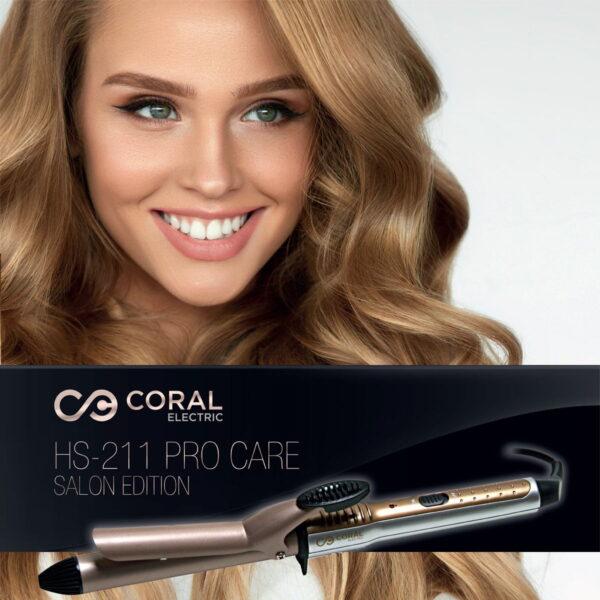 Coral aparat za uvijanje kose i pravljenje lokni prečnika 25 mm - Figaro HS-211
