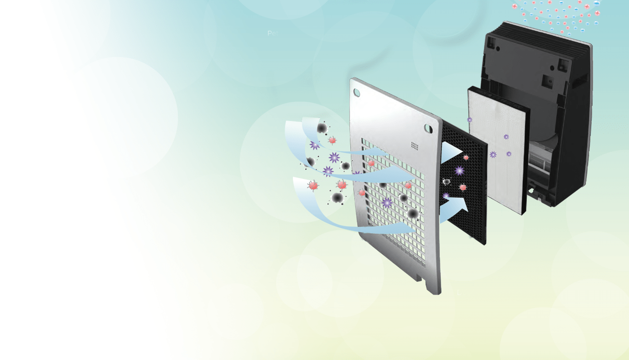 SHARP prečišćivač vazduha: Osveživač, ovlaživač i jonizator (sa HEPA filterom)