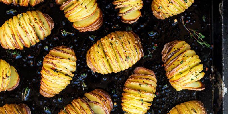 Hasselback krompiri