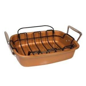 Macht veliki pekač sa rešetkom za pečenje - Copper Roaster CR-01
