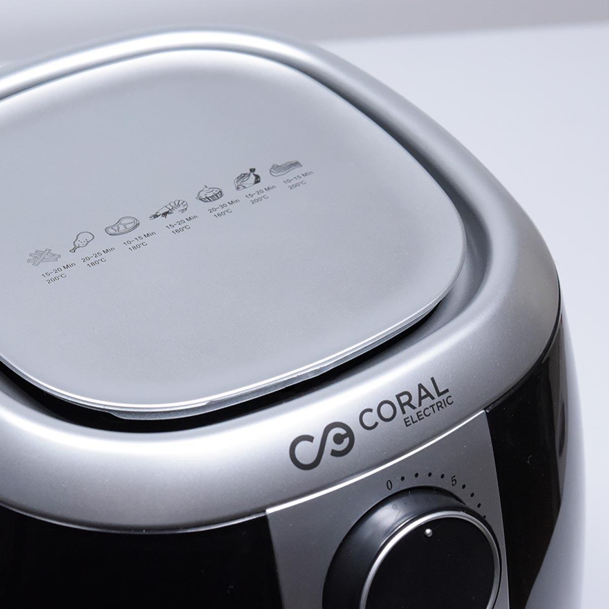 Coral turbo friteza bez ulja - Air Fryer AF-1500