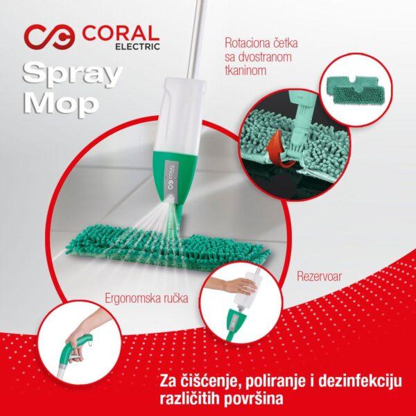 Spray Mop čistač podova - SPM-01