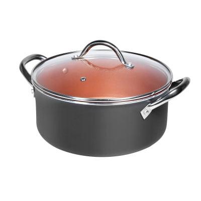 Kaserola sa staklenim poklopcem